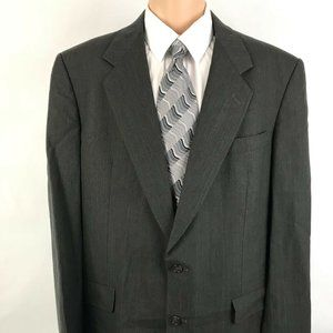 Hart Shaffner Marx Men's Suit Jacket Taupe Wool